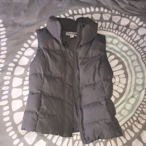 Forever 21 Grey Puffy Vest